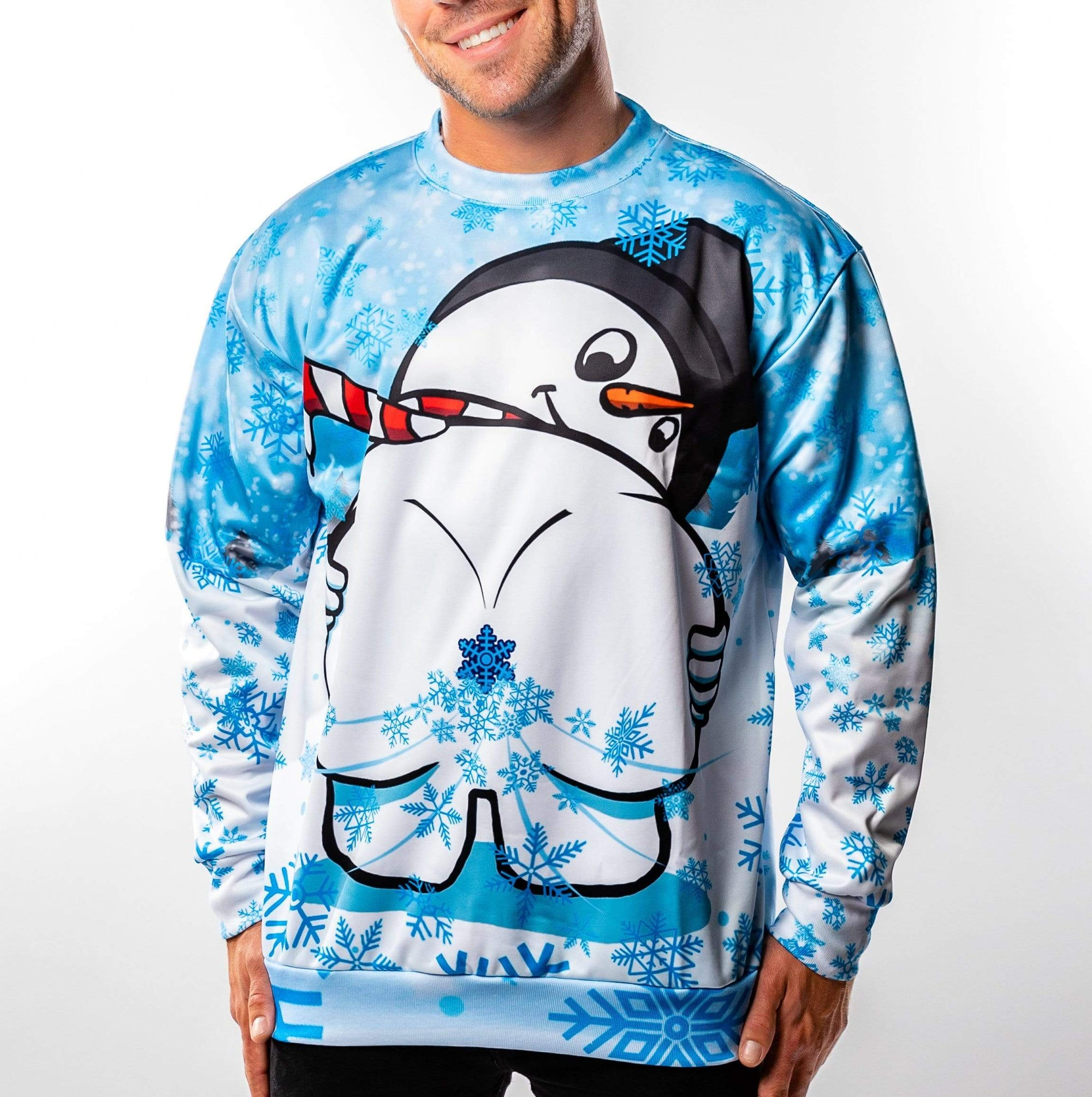 Frosty Flakes Christmas Sweater