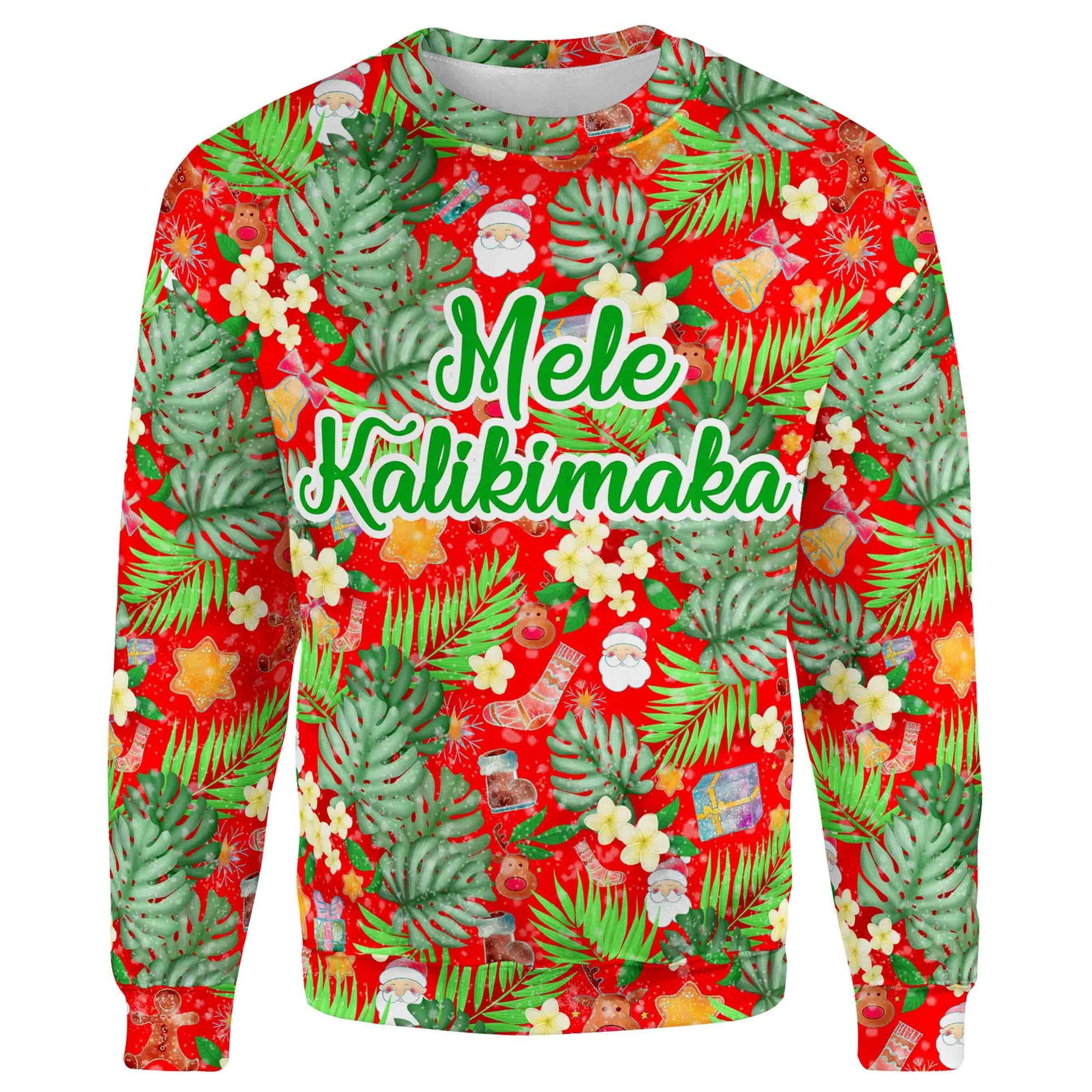 Mele Kalikimaka Christmas Sweater