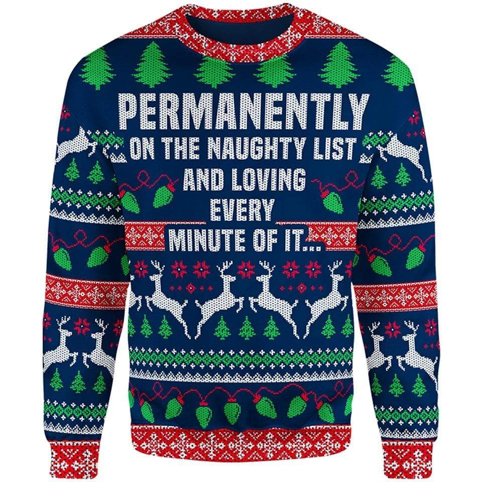 Naughty & Loving It Christmas Sweater