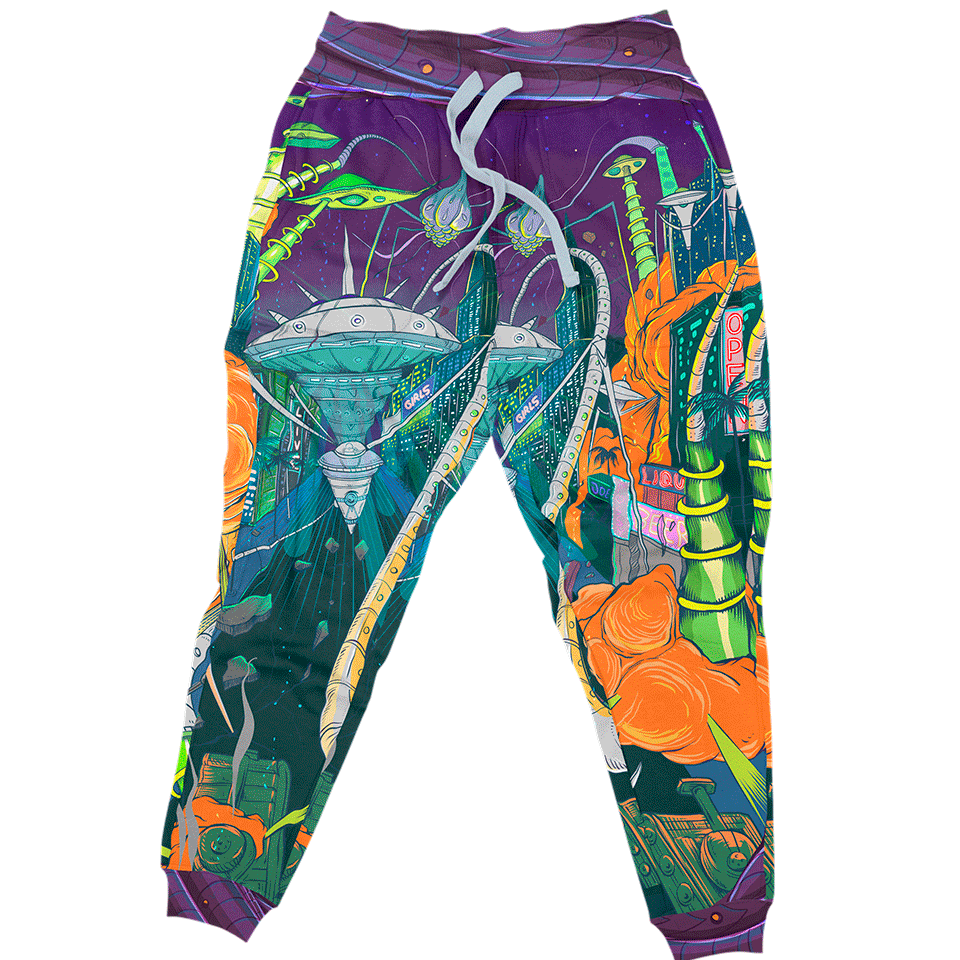 Joggers S Space Invasion Joggers SPACE-INVASION_JOGGER_SM