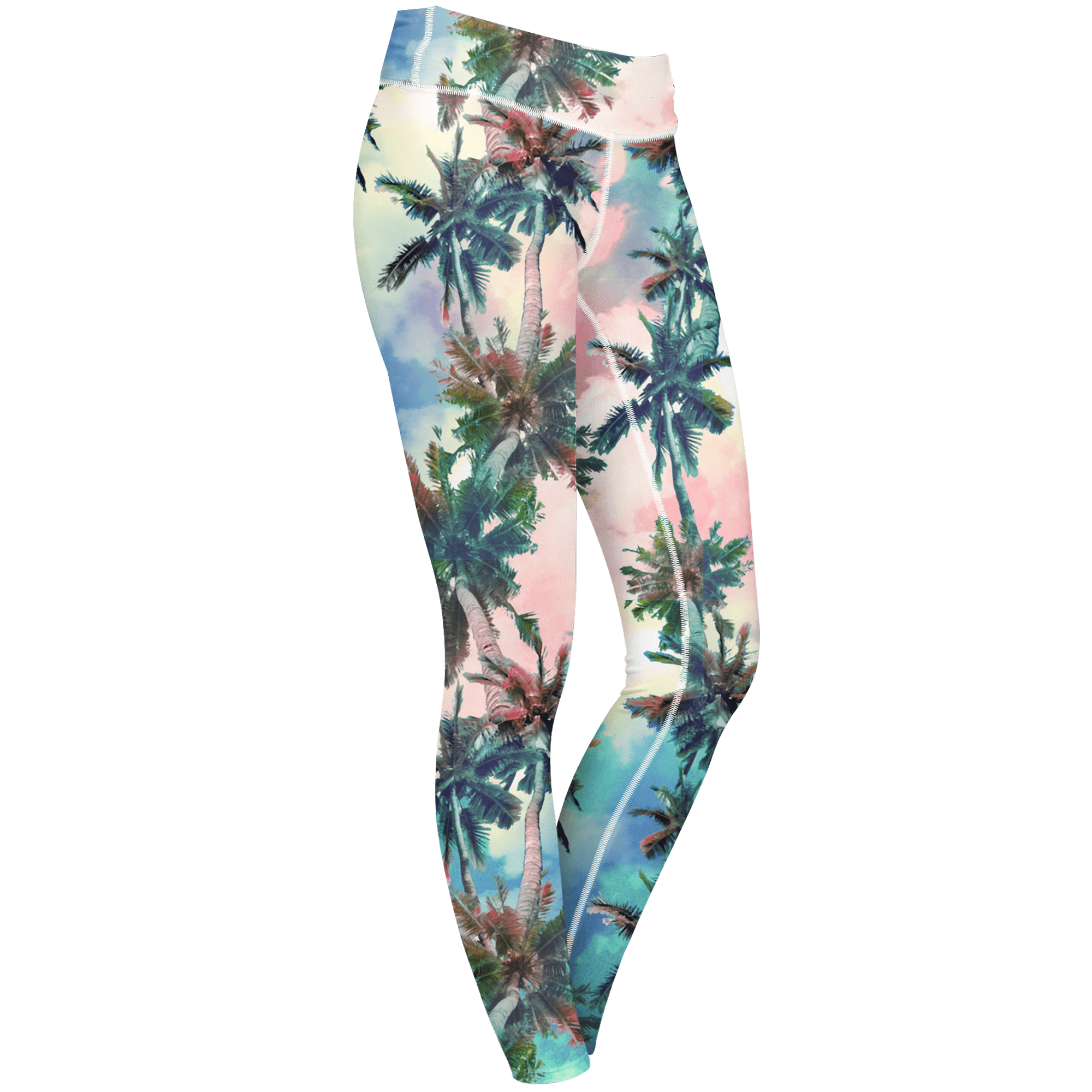 Leggings XS Palm Sunset Leggings Coconut_LEGGINGS-6Pan_XS