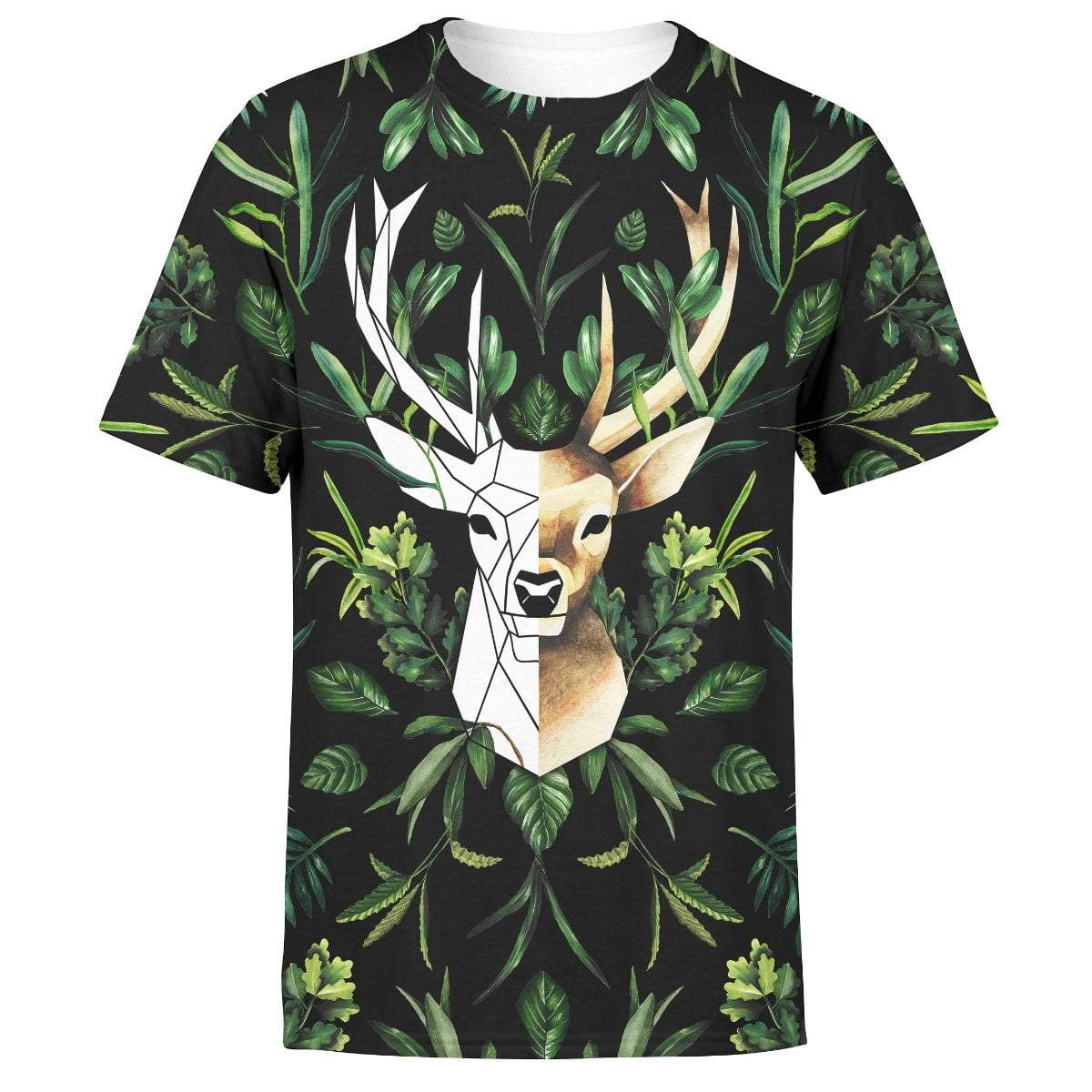 Shirt Geometric Deer Unisex Shirt