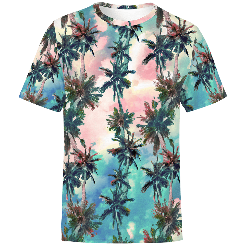 Palm Sunset Unisex Shirt