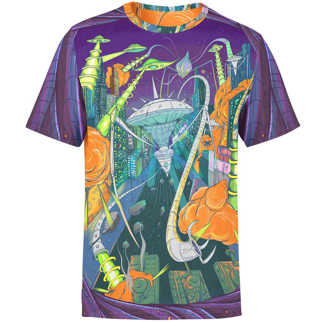 Space Invasion Unisex Shirt