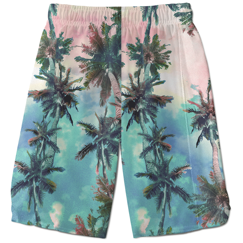 Palm Sunset Shorts