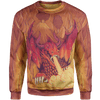 Sweater 4XL Dragon's Fire Sweater Dragon's Fire_SWEATSHIRT-3.0_4XL