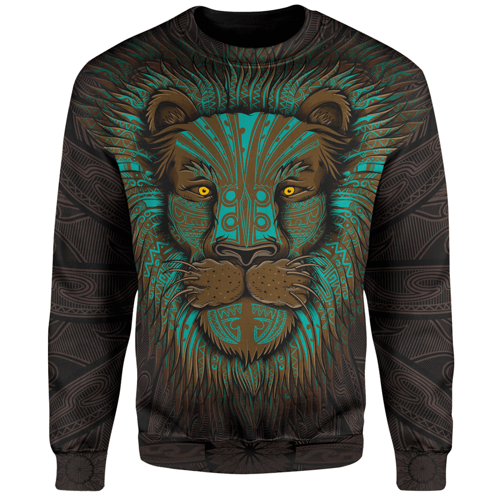 Sweater 4XL Lion Warrior Sweater LION_SWEATSHIRT-3.0_4XL-01