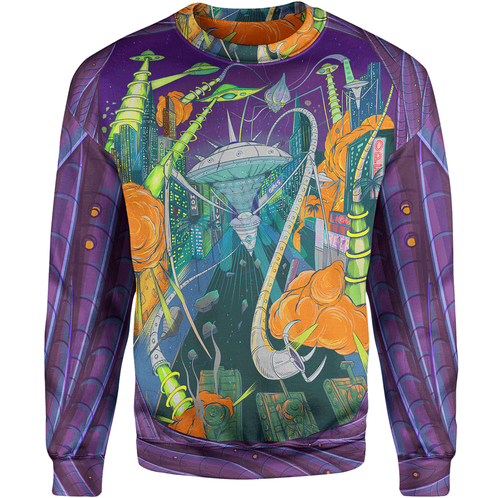 Sweater 4XL Space Invasion Sweater Space Invasion_SWEATSHIRT-3.0_4XL