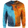Sweater Fire & Ice Phoenix Sweater