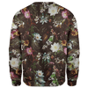 Sweater Flower Skull Sweater
