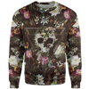 Sweater S Flower Skull Sweater FLOWER-SKULL_SWEATSHIRT-3.0_SM