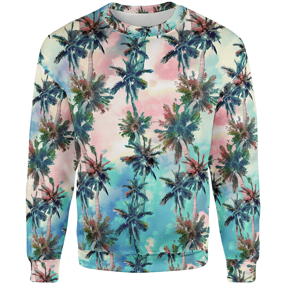 Palm Sunset Sweater