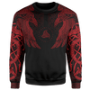 Sweater S / Red Muninn Sweater MUNINN-RED_SWEATSHIRT-3.0_SM