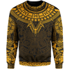 Sweater S / Yellow The Eagle Warrior Sweater MAYANS_SWEATSHIRT_SM