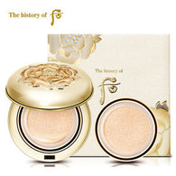 The History of Whoo Gongjinhyang Mi Luxury Golden Cushion, 15g +1 refill