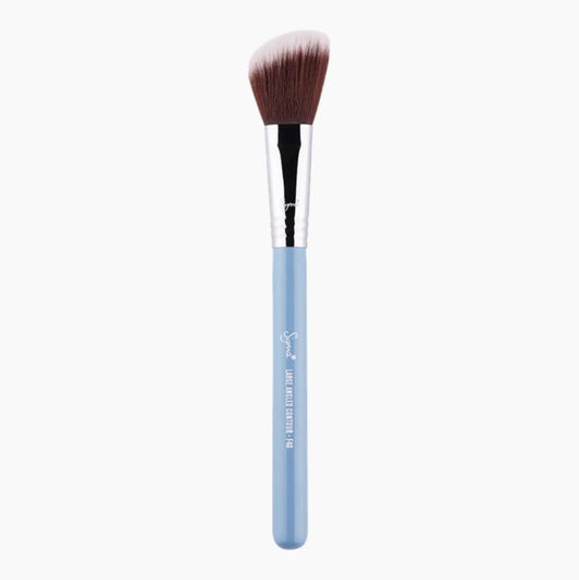 Sigma- F40 LARGE ANGLED CONTOUR BRUSH - LIGHT BLUE