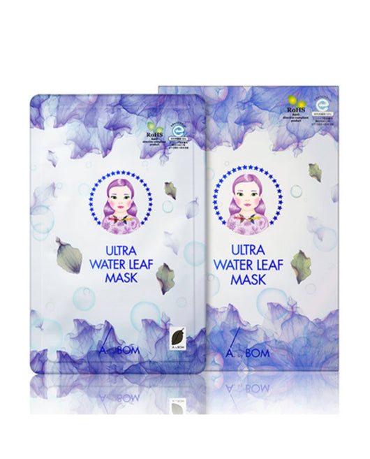 A. by BOM Ultra Water Leaf Mask,  5 sheets/box