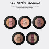 3CE Triple Shadow-More Brown