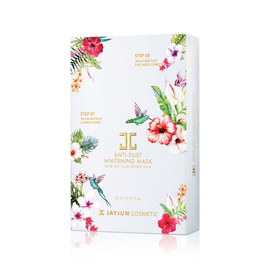 Jayjun Anti-Dust Whitening Mask, 10 Sheets/box