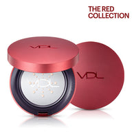 VDL Beauty Metal Cushioin Foundation Long Wear(#A201)- The Red Collection, 15gx2