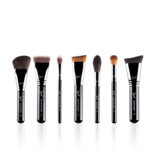 Sigma- Highlight & Contour Brush Set, 7 brushes/set