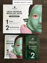 Shangpree Green Premium Modeling mask, 5 Treatments/box