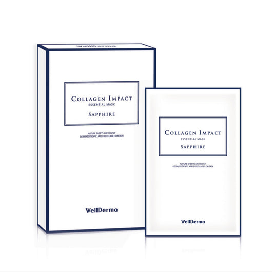 WellDerma Collagen Impact Essential Mask, 10 sheets/box