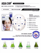 Mediheal Circle Point Mask, Black Chip/Gold Chip/Aqua Chip , 10 sheets/box
