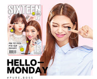 16 Brand Eye Magazine- Hello Monday (Glam Beige + Cocoa Brown)