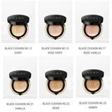 Hera Black Cushion, 15g+ 1 refill
