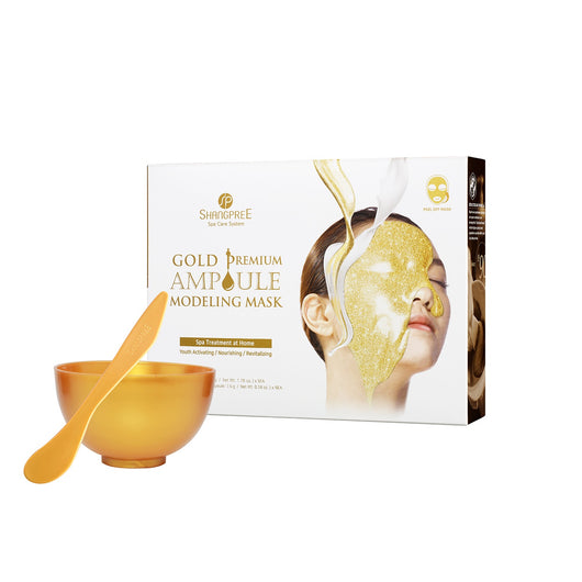 Shangpree Gold Premium Ampoule Modeling Mask (2nd Gen), 5 treatments/box