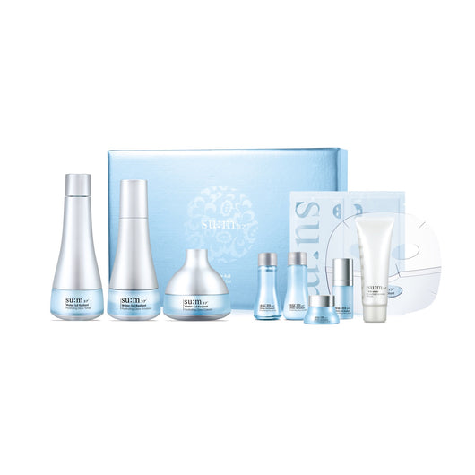 SU:M37 Water-Full Radiant Hydrating Glow Special Gift Set, 9pcs/box