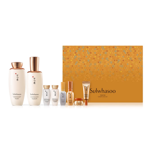 Sulwhasoo Concentrated Ginseng Renewing 2 Piece Set, 7pcs/box