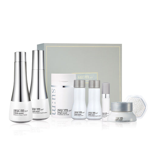 SU:M37 White Award Special Set, 7pcs/set-In Stock