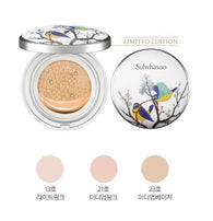 Sulwhasoo Perfecting Cushion Brightening  Limited 2017 Edition -Gold Bird Arafeel White, 15g+1 refill