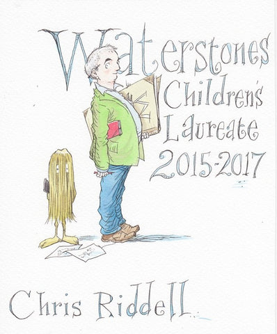 Chris Riddell & Mr Munro
