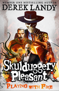 Skulduggery Pleasant 2: Playing With Fire - Signed Copy, by Derek Landy