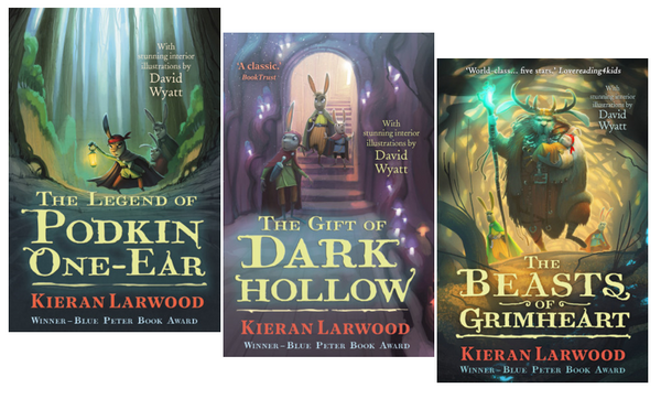 Five Realms Trilogy - Save £3! Signed by Kieran Larwood