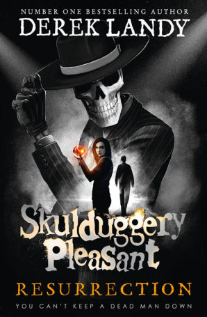 9780008169022 Resurrection (Skulduggery Pleasant Book 10) Hardcover - Signed Copy by Derek Landy