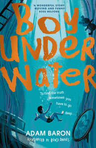 2020 WINNER:  Boy Underwater - Signed Copy, by Adam Baron