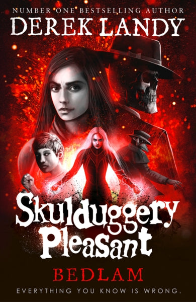 Skulduggery Pleasant 12: Bedlam - Signed Copy, by Derek Landy
