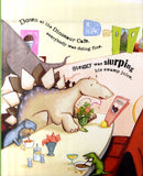 Trouble at the Dinosaur Cafe - Written by Brian Moses, Signed & Illustrated by Garry Parsons