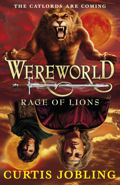 9780141333403 Wereworld 2: Rage of Lions - Signed Copy, by Curtis Jobling