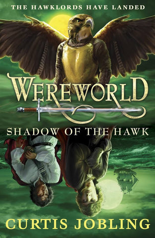9780141340494 Wereworld 3: Shadow of the Hawk - Signed Copy, by Curtis Jobling