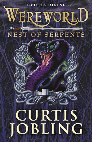 9780141340500 Wereworld 4: Nest of Serpents - Signed Copy, by Curtis Jobling