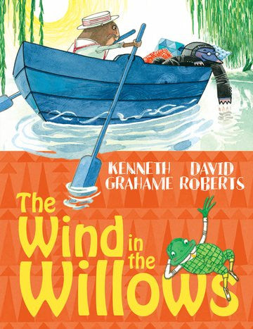 9780192732439 The Wind in the Willows - by Kenneth Graham, Signed & Illustrated by David Roberts