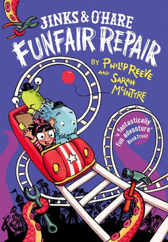 Jinks & O'Hare Funfare Repair - Signed by Sarah McIntyre 9780192734945