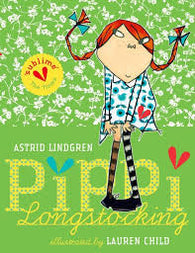 Pippi Longstocking Gift Edition - Signed Copy, by Lauren Child 9780192782410