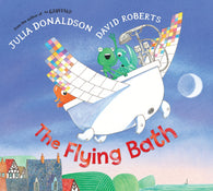 9780230742604 The Flying Bath - by Julia Donaldson  Signed & Illustrated by David Roberts
