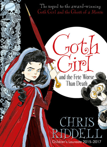 9780230759824 Goth Girl and the Fete Worse Than Death - Signed Copy, by Chris Riddell